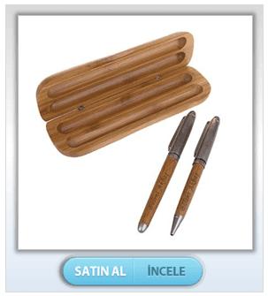 Bambu Kutulu İkili Kalem
