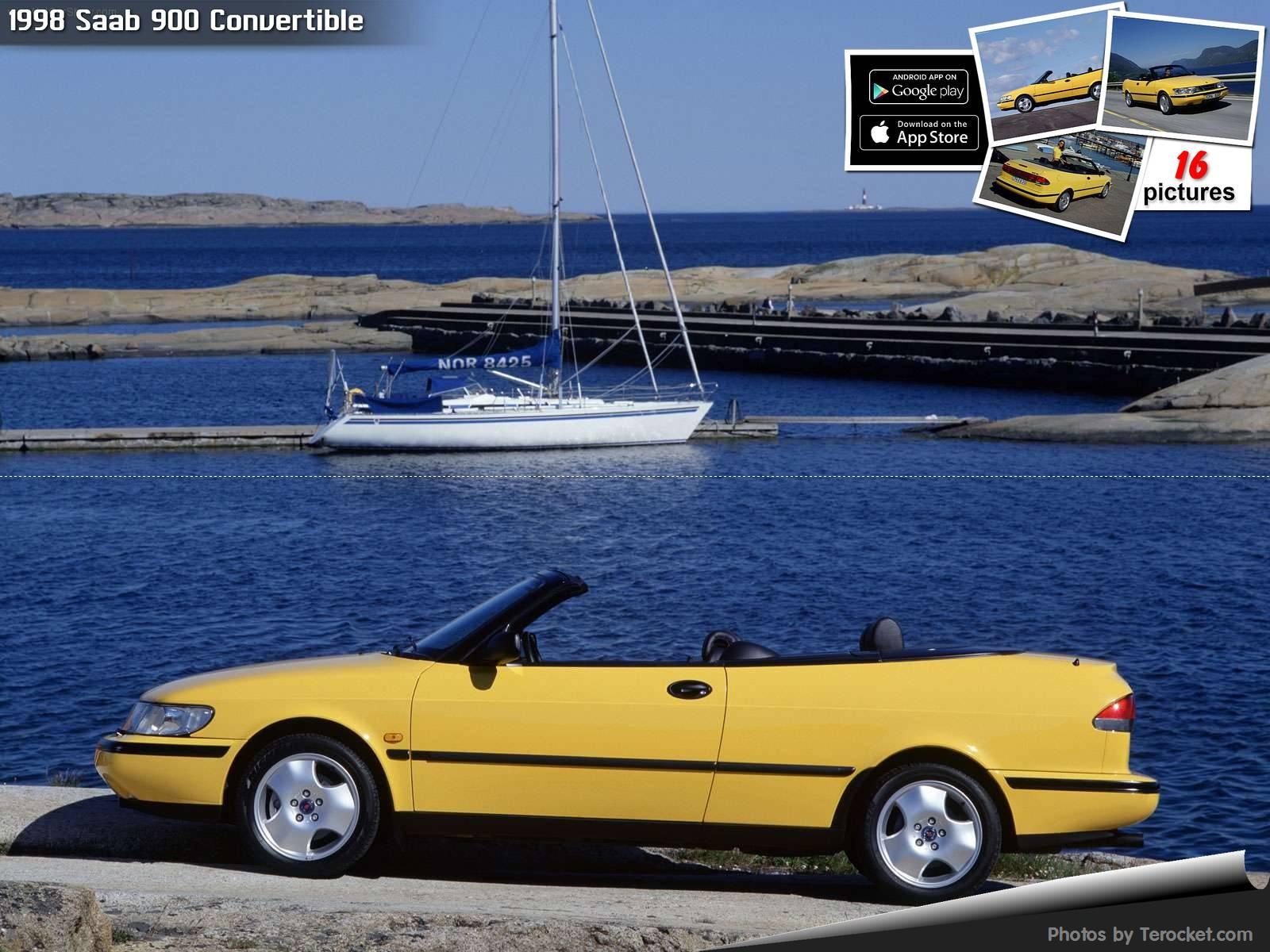 Hình ảnh xe ô tô Saab 900 Convertible 1998 & nội ngoại thất