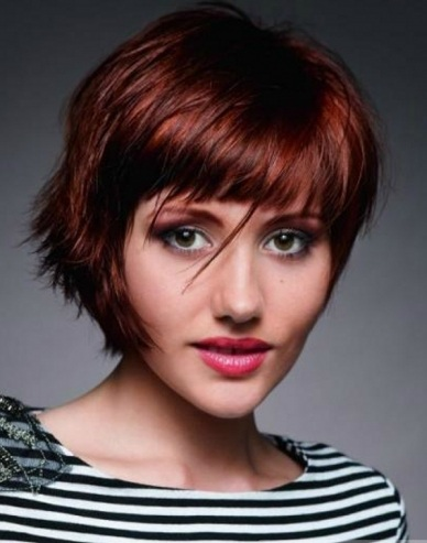On Trend Short Choppy Layered Haircut 2014