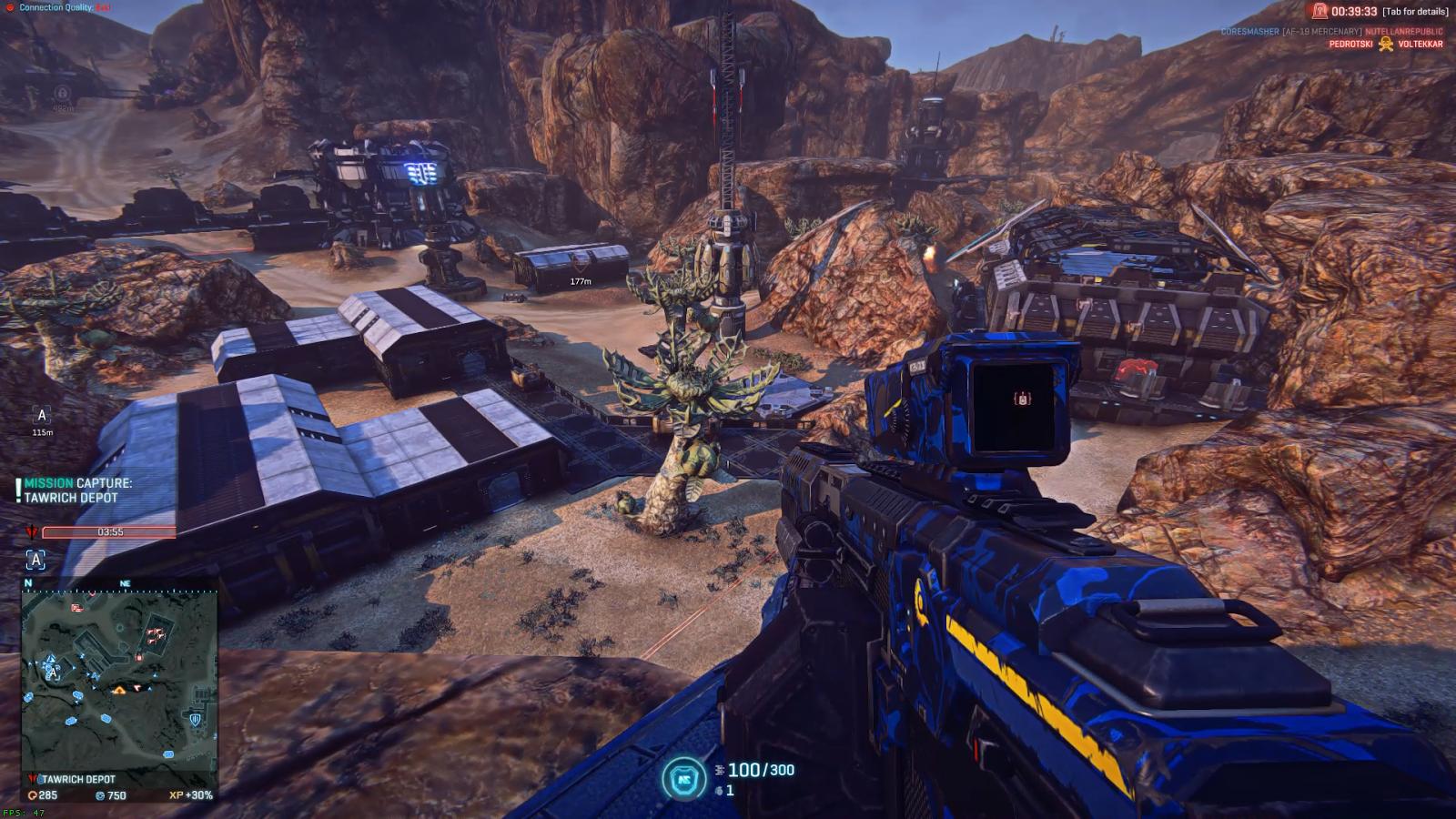 Terran Republic, Planetside 2, Automatic Rifle