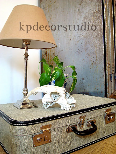 Kp decor studio comprar maleta antigua m13 - Maletas antiguas decoracion ...