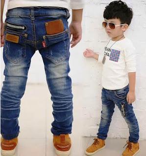 Celana Jeans Keren Anak Laki-Laki