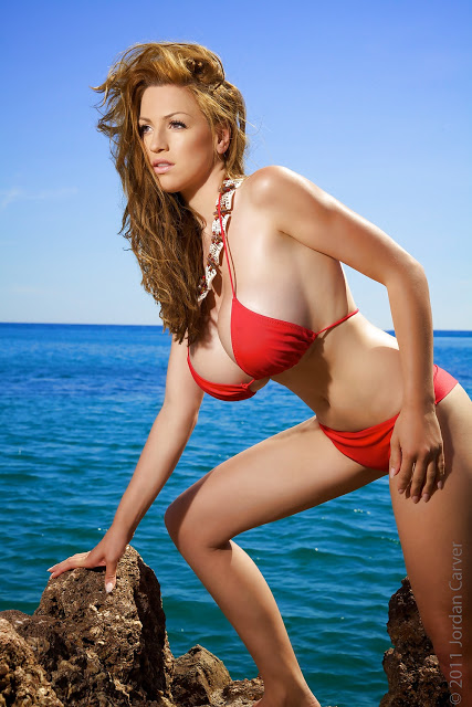 Bikini pregnant jordan