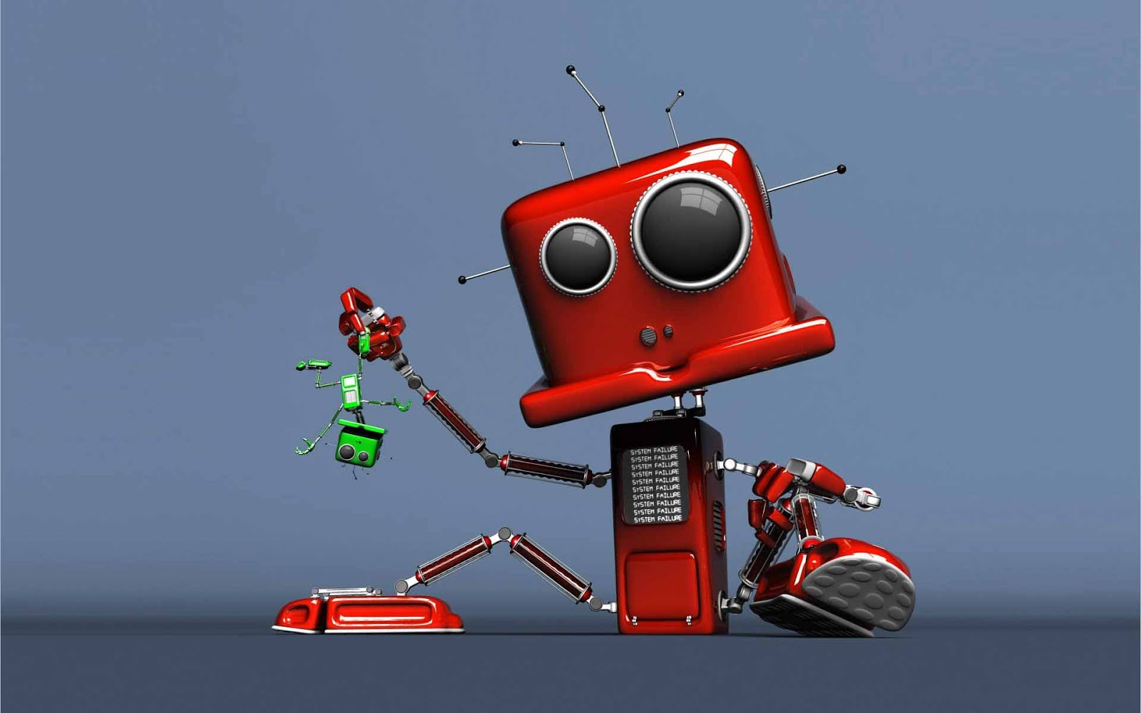 20 HD <b>Robot Wallpapers</b>