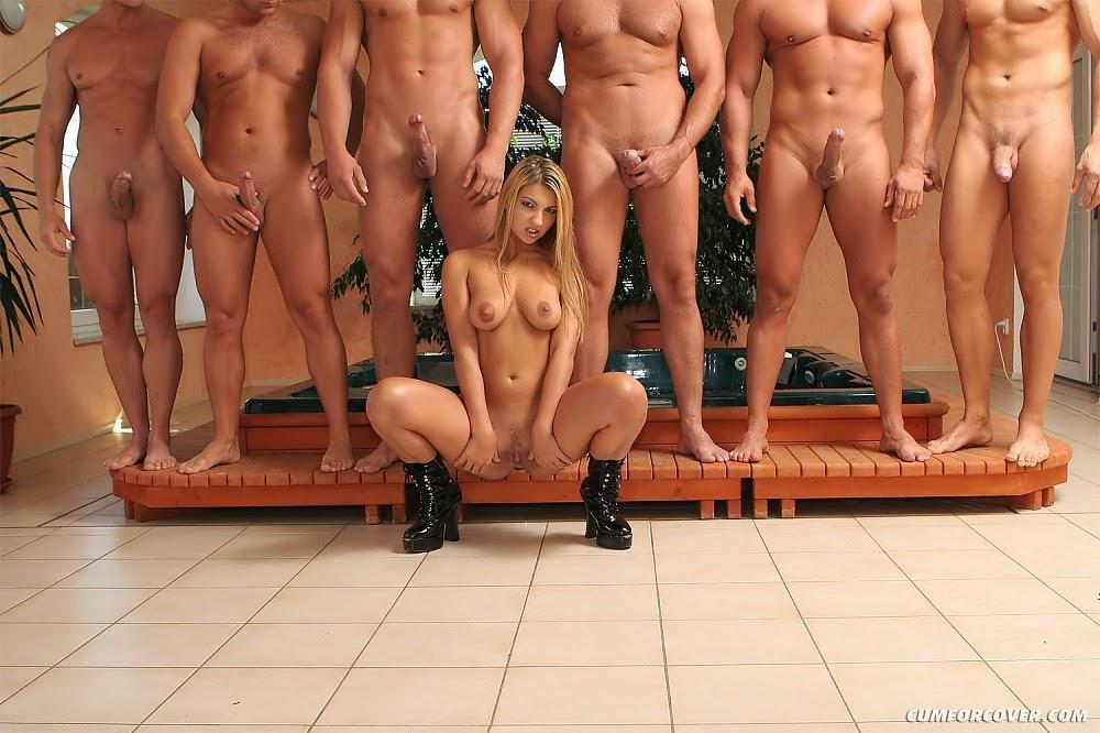 фото женщин рядом с голыми мужчинами альбом 4