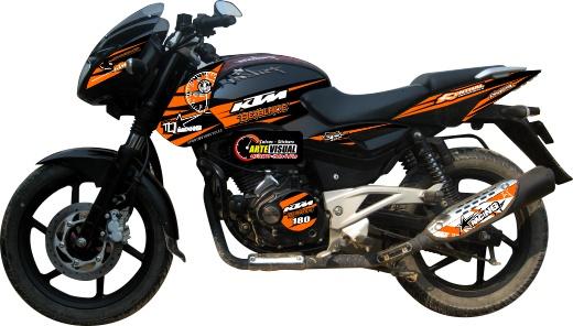 Franjas para motos pulsar imagui for Disenos de motos