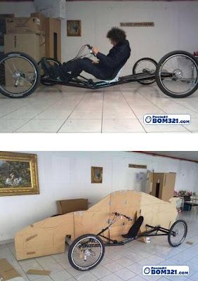 Buat Kereta Dari Basikal