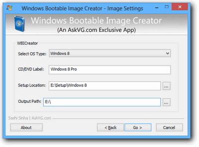 WBI Creator | Software membuat bootable ISO Windows