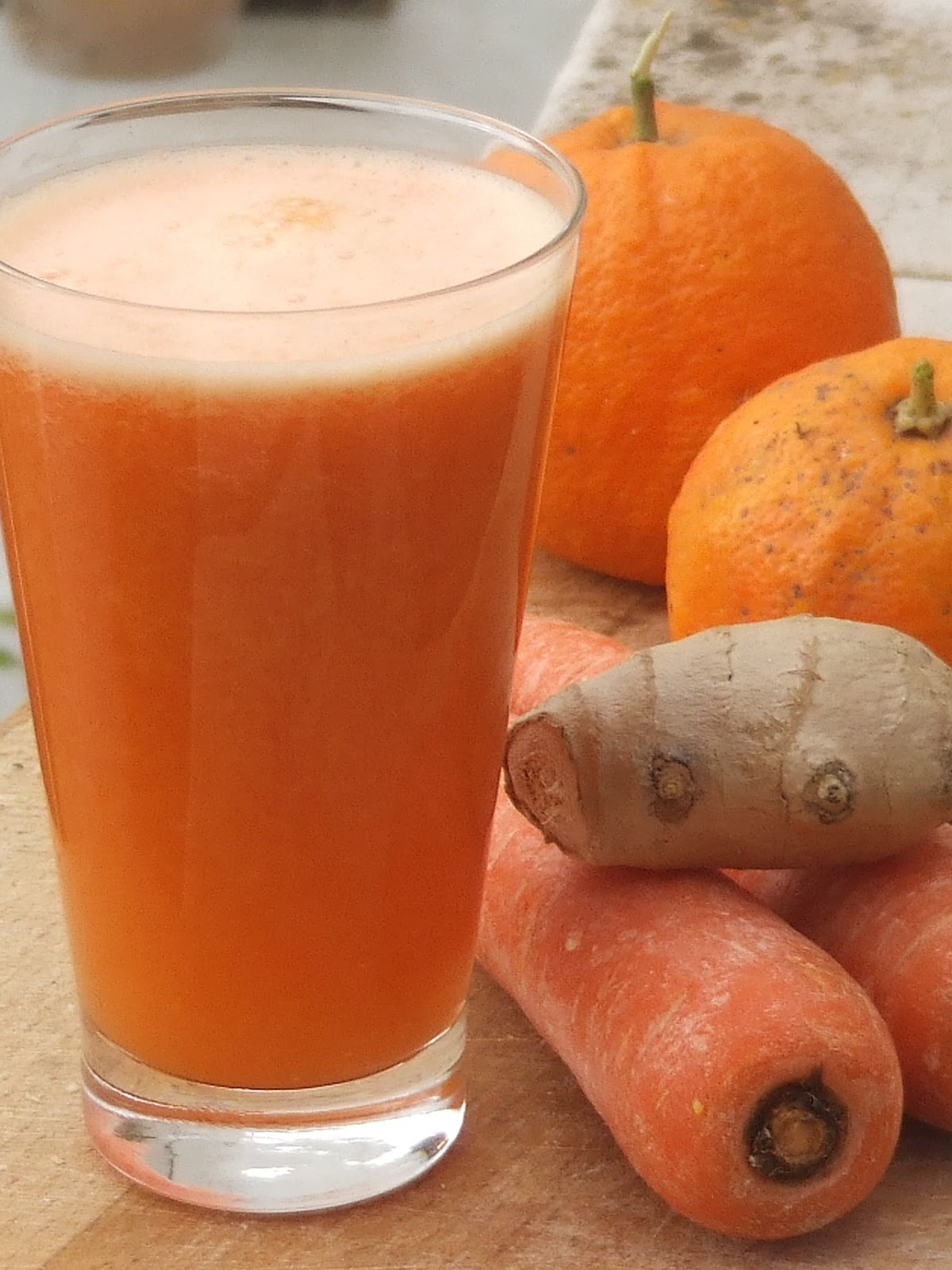 cozinheiro este algarve: Seville orange,carrot and ginger smoothie