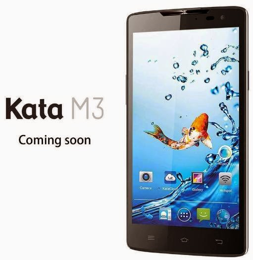 Kata M3 Announced, 5.5-inch Octa Core with 3300mAh Battery