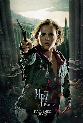 Harry Potter and the Deathly Hallows: Part 2 Character Movie Poster Set - Emma Watson as Hermione Granger