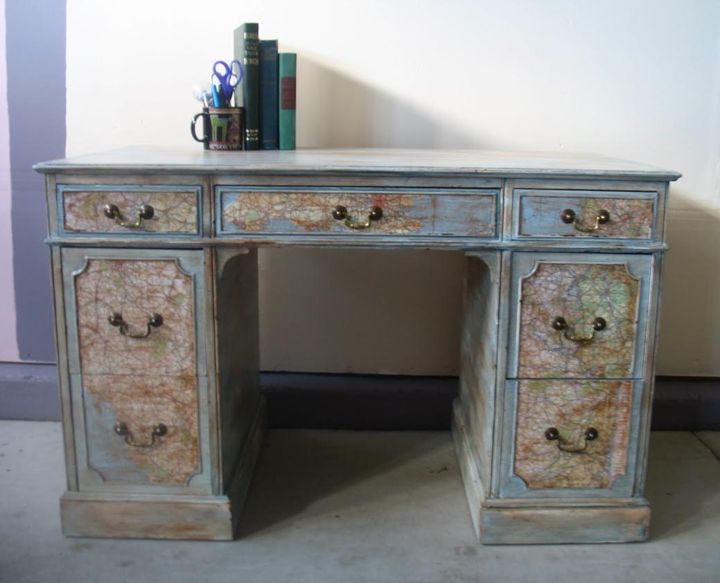 Gone Thrifting Upcycled Desks