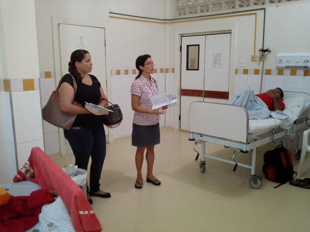 Evangelização na Fundação Hospitalar.