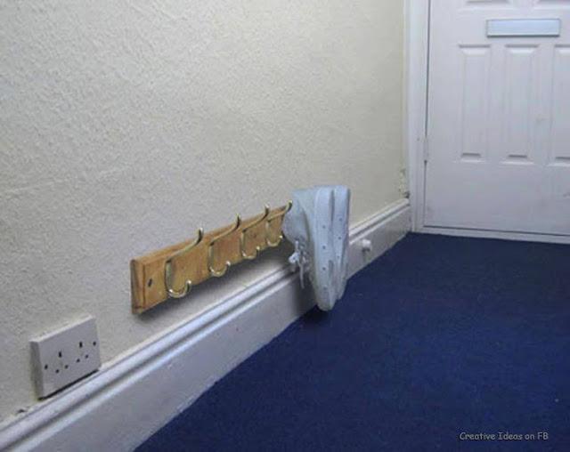IDe Kreatif Memanfaatkan Ruang Di Balik Pintu