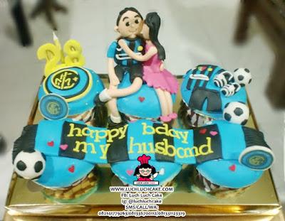 Cupcake Intermilan Romantis Daerah Surabaya - Sidoarjo