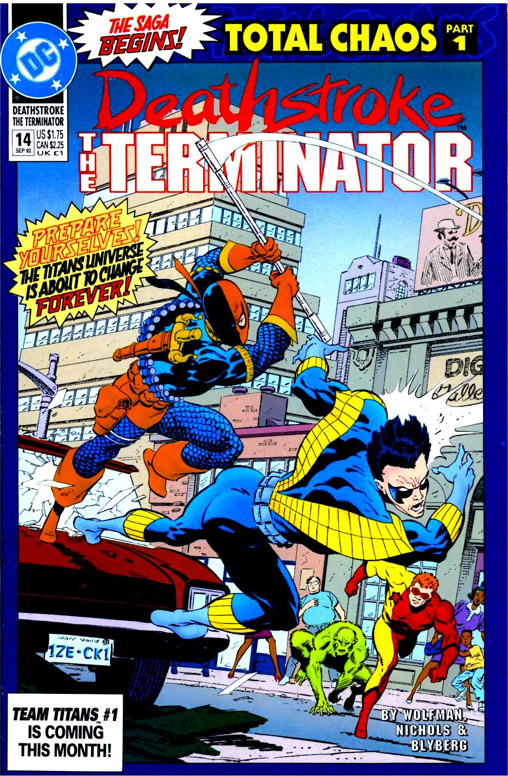 Deathstroke (1991) Issue #14 #19 - English 1