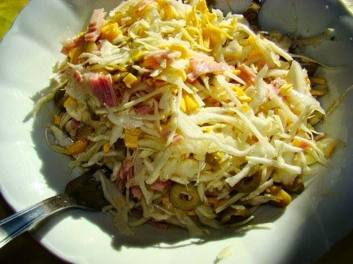Recette du Salade de chou blanc