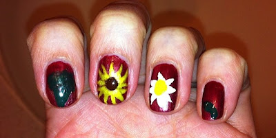 nail me, nail art, anna, fruit, veggies, garden