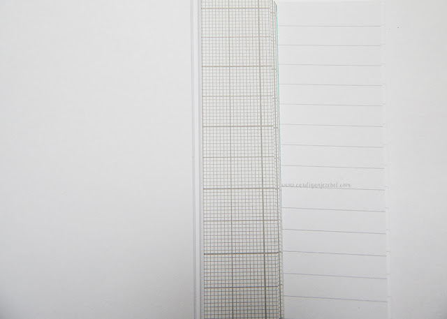 blank, grid, and lined paper.