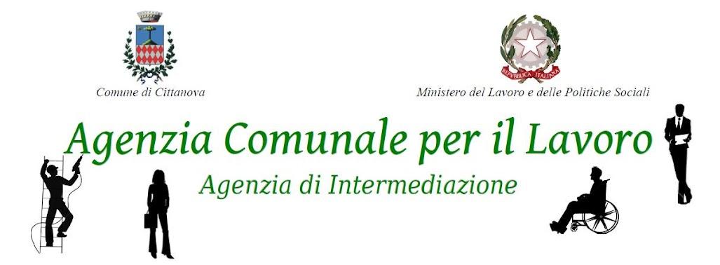 Agenzia per il Lavoro - Comune di Cittanova