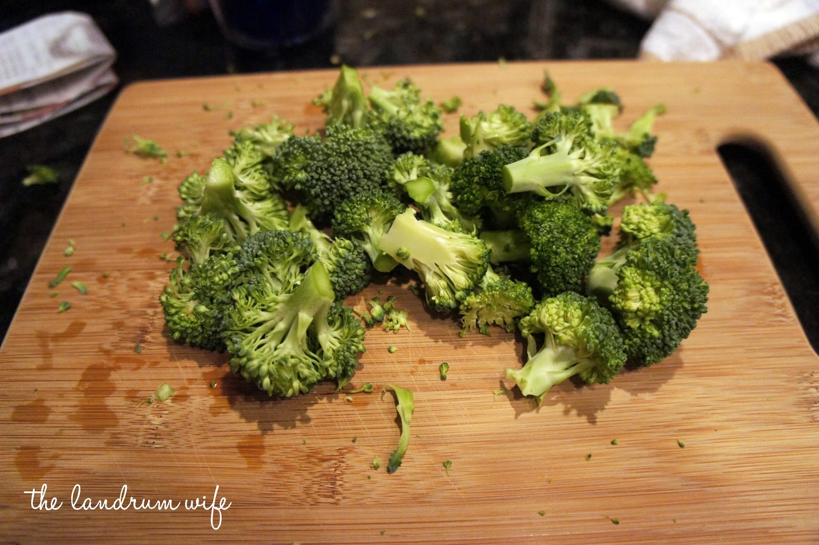 how to cook broccoli fast