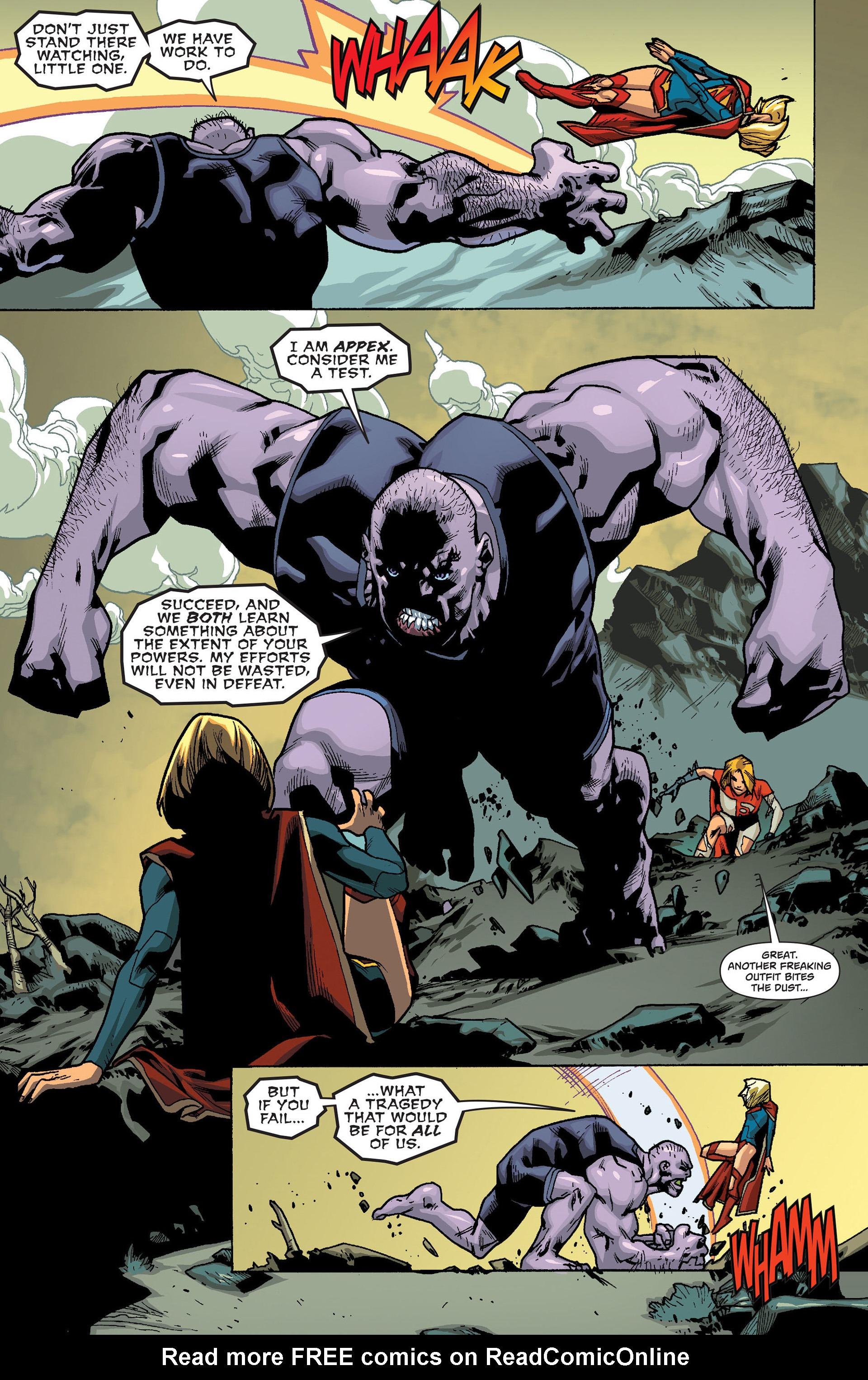 Supergirl (2011) Issue #19 #21 - English 12