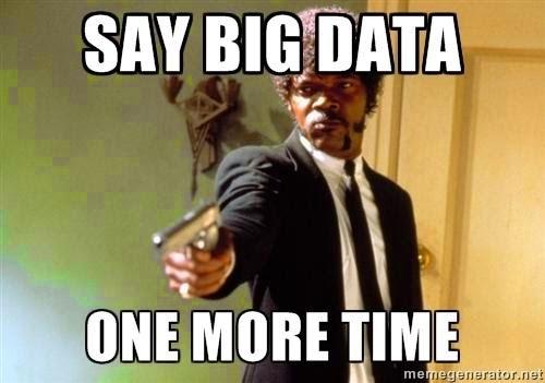 O hype em torno do termo é grande, mas vai passar, afinal isso sempre acontece com novas tecnologias, embora haja quem defenda que de novo o Big Data não tem nada. Enfim...