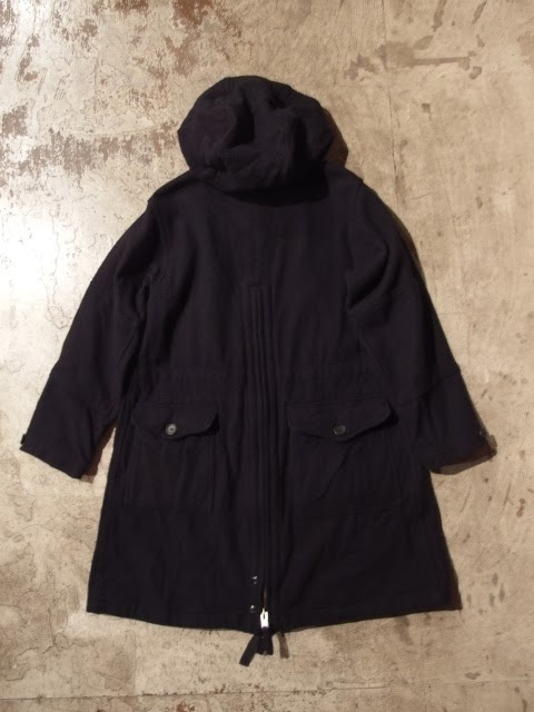 fwk by engineered garments over parka 19oz all wool flannel
