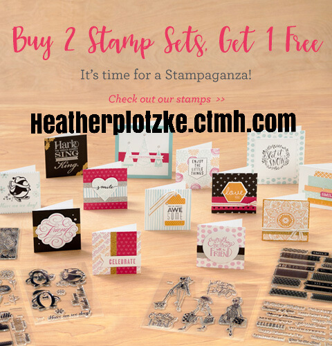 Stamaganza! Buy 2 stamp sets get one FREE