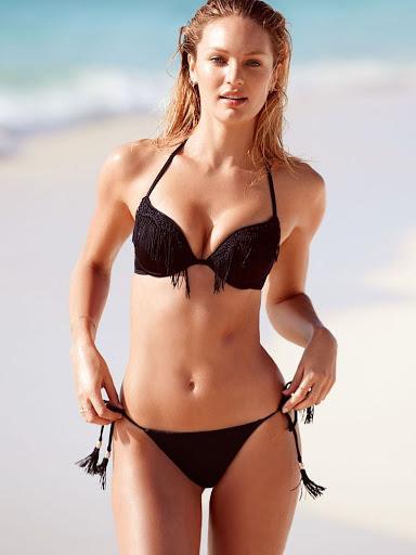 Candice Swanepoel – Victoria's Secret Bikini Model Photoshoot