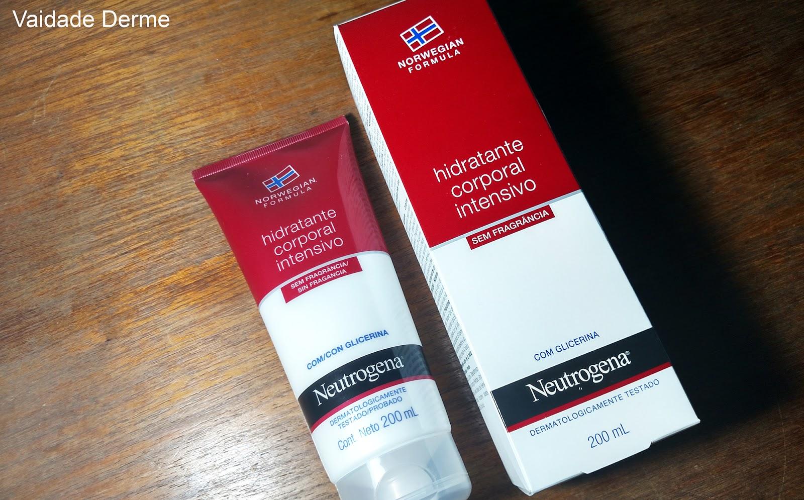 Neutrogena Norwegian Hidratante Corporal Intensivo Loção