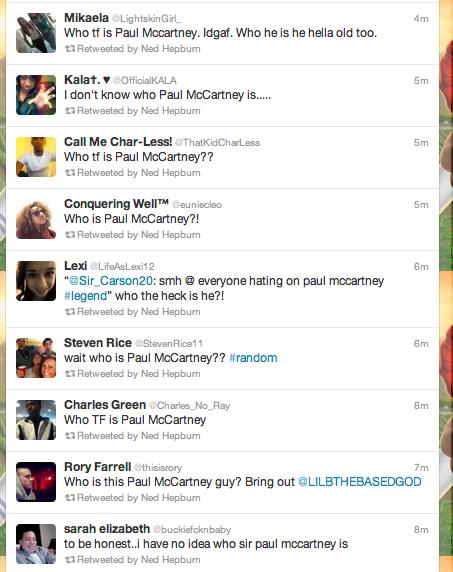 Quem é Paul McCartney?
