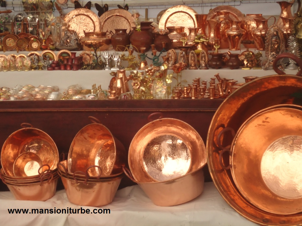 Fotos artesania santa clara del cobre michoacan 39