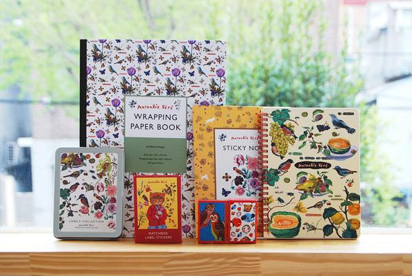 Colección papelería Nathalie Lété para 7321 Design