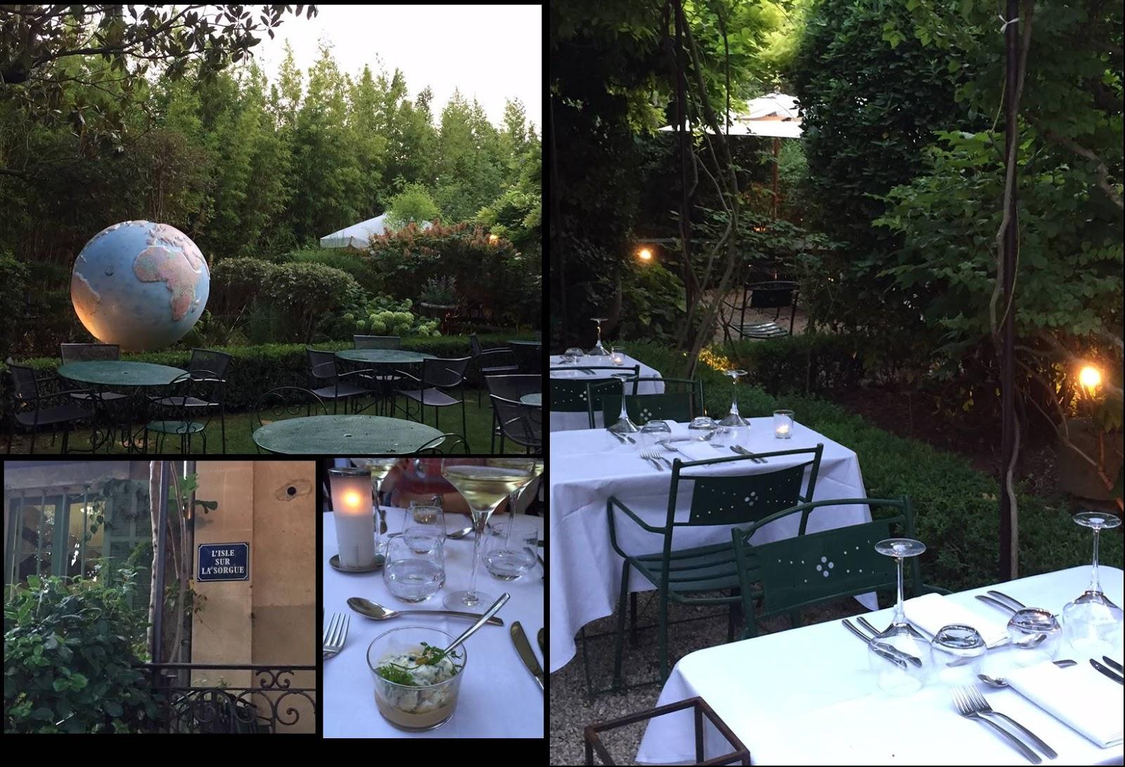 Le moleskine de capucine escapade l 39 isle sur sorgue getaway in isle sur sorgue - Le jardin du quai isle sur la sorgue ...