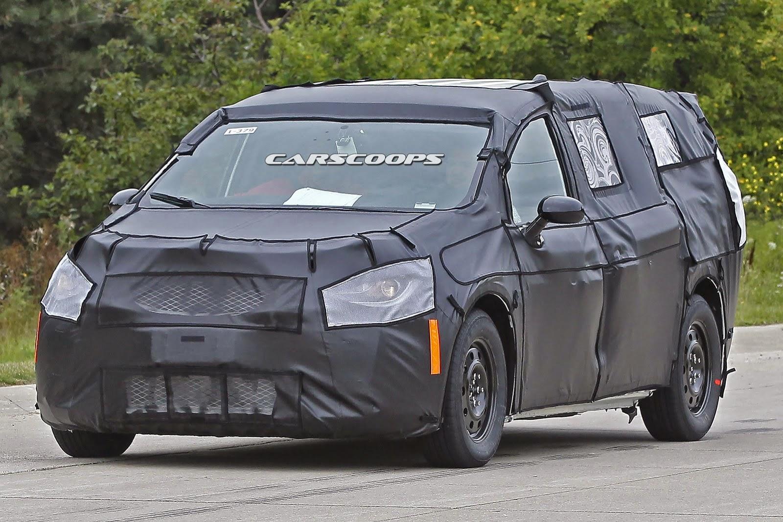 chrysler confirms new minivan for 2016 detroit auto show. Black Bedroom Furniture Sets. Home Design Ideas