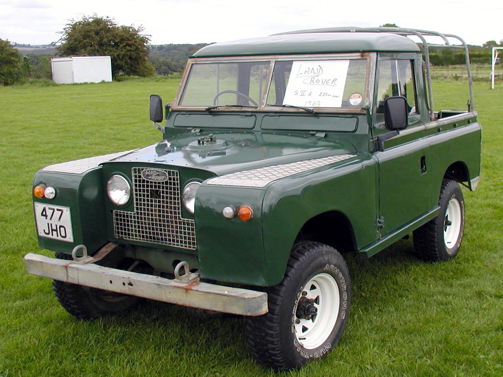 Automotive Database Land Rover Series Ii