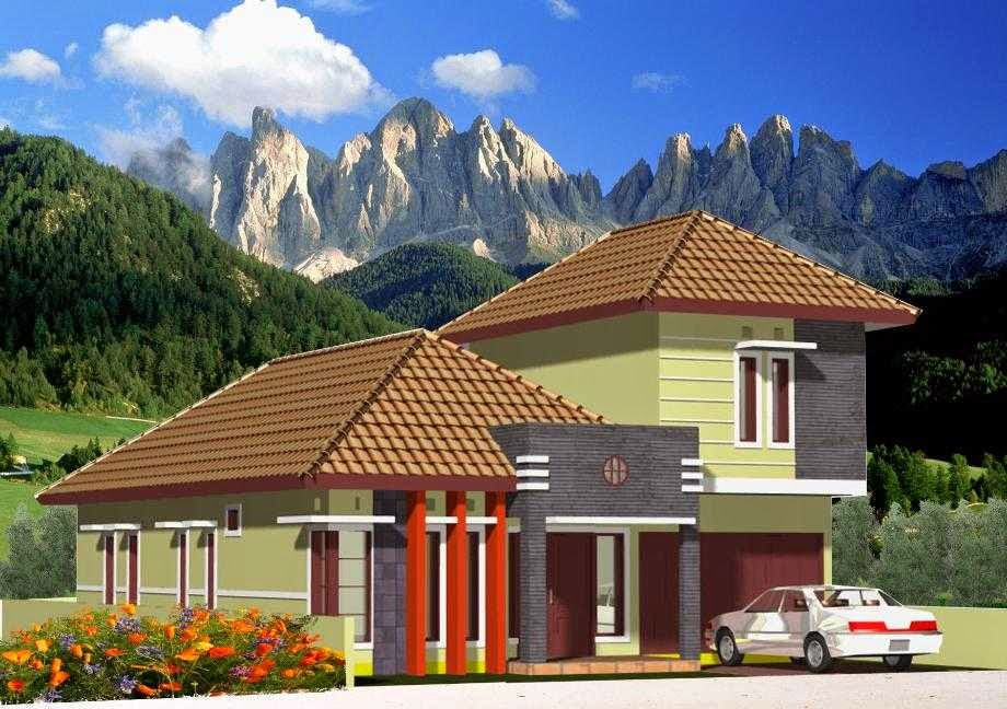 model atap teras genteng