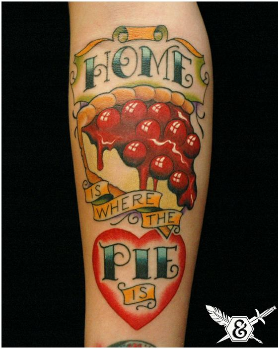 Food Tattoos by Russ Abbott