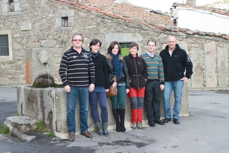 Miembros de ASFUVE en Fuentebuena