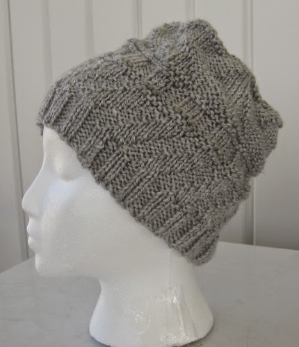 Knitting Pattern Top Hat : Simple Knits: Aldo Hat & Scarf for guys - a knit pattern