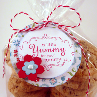 Cookies Gift with Handmade Gift Tag