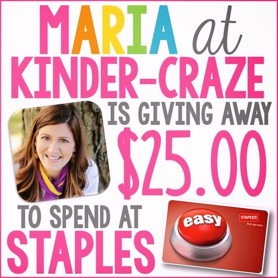 Enter to win a $25 Staples gift card