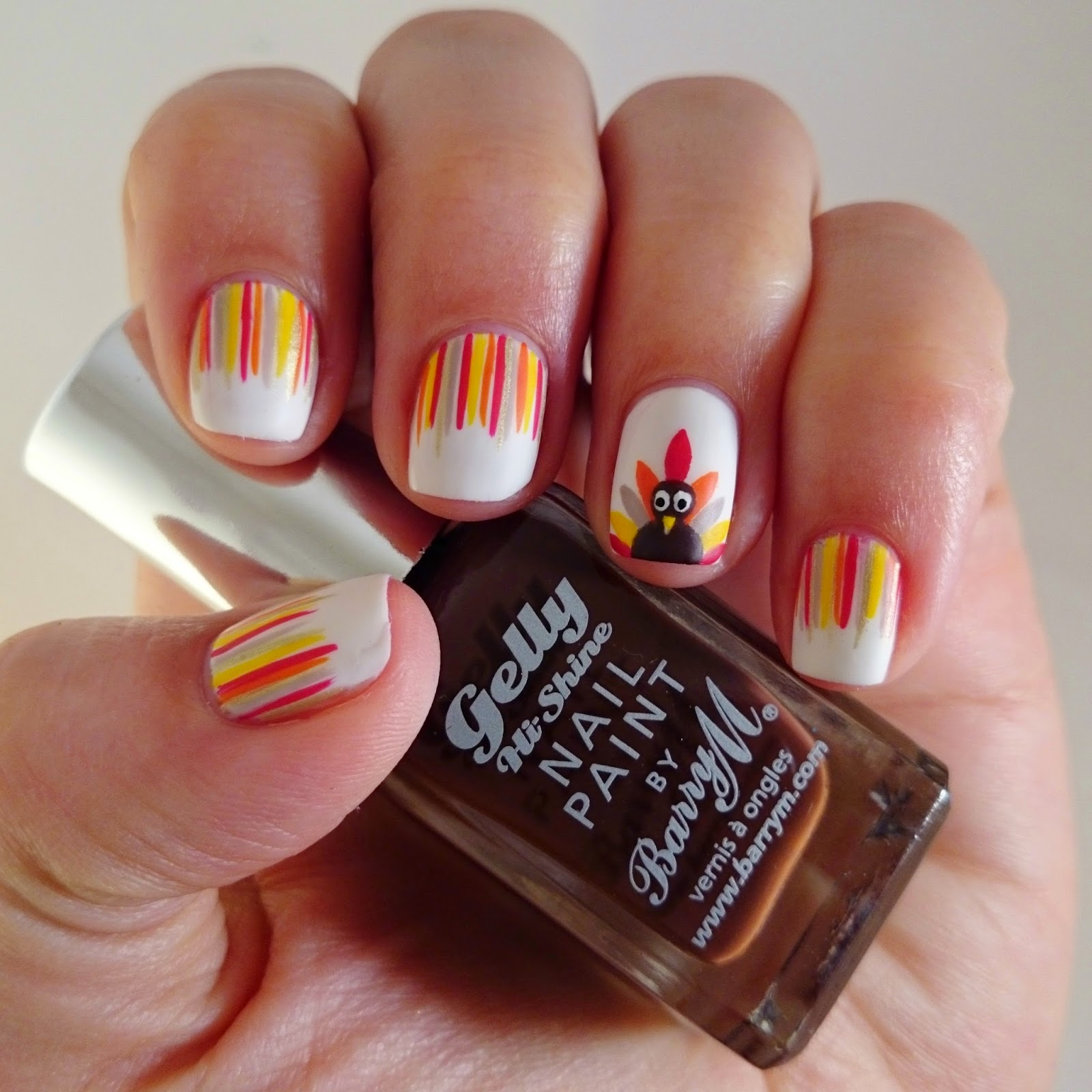 Dahlia Nails Happy Thanksgiving!
