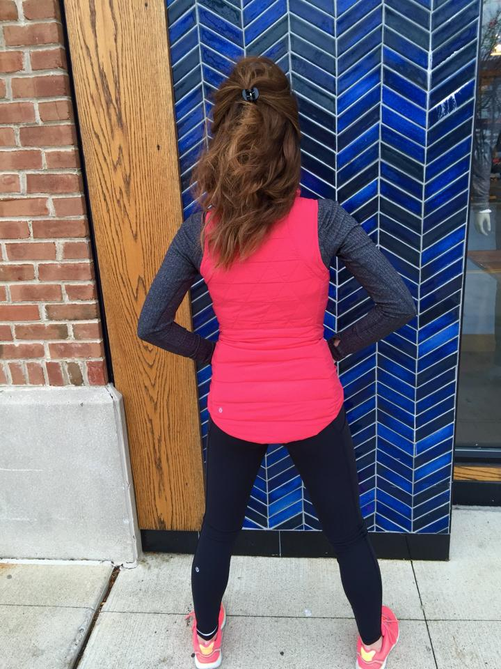 lululemon think fast ls vest speed tight