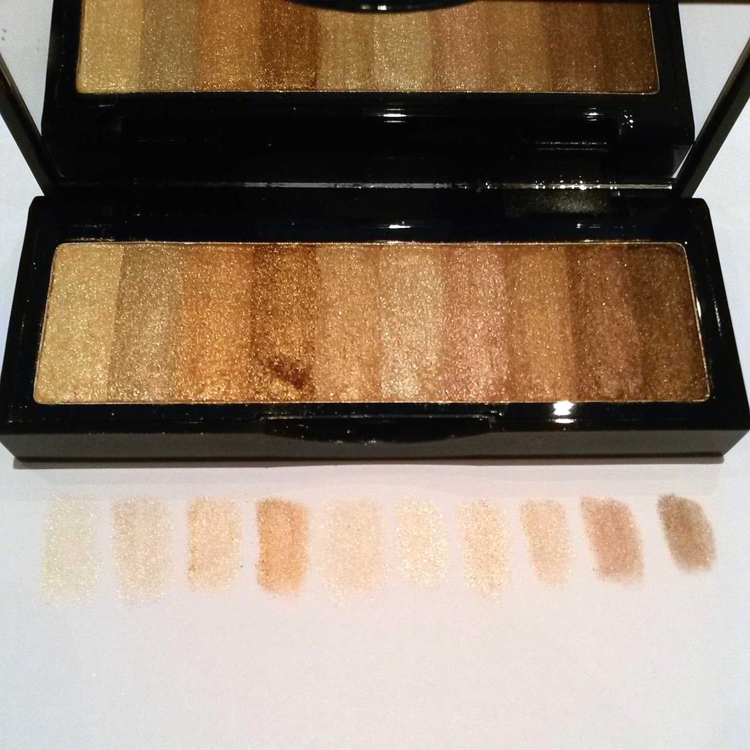 Bobbi Brown Shimmer Brick Eye Palette Raw Sugar