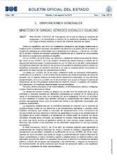 Real Decreto 1192/2012, de 3 de agosto, por el que se regula la condición de  asegurado y de benef.