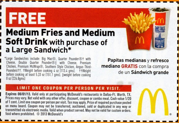 McDonald's Canada: Find the latest printable coupons for your location. If no city becomes available when selecting your location, just click on Print Coupon to get your coupons.