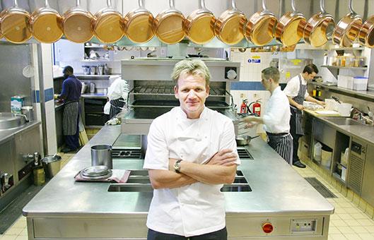 Gastronom a a libreta abierta i equipo mayor fijo en for Equipo para chef