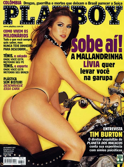 Lívia Andrade - Playboy 2001